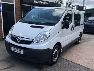 VAUXHALL VIVARO Unlisted