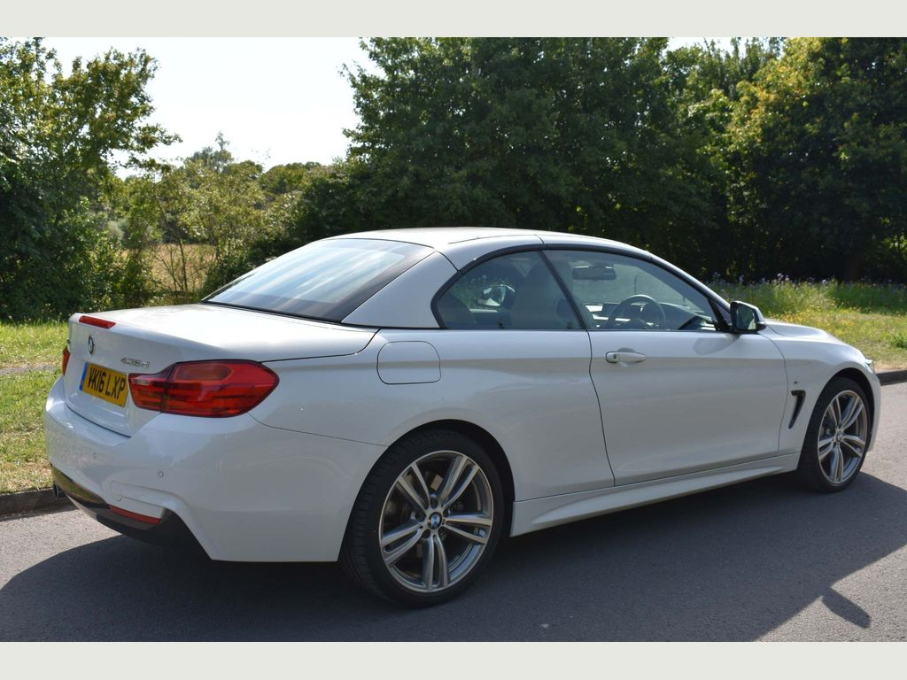 Used Bmw 4 Series Convertible 3 0 435d M Sport Xdrive 2dr in