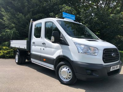 FORD TRANSIT Tipper 2.2 TDCi 350 L3H1 Double Cab 1-Way Tipper RWD 4dr