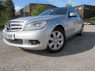 MERCEDES-BENZ C CLASS Estate 2.1 C220 CDI BlueEFFICIENCY SE (Executive) Auto 5dr
