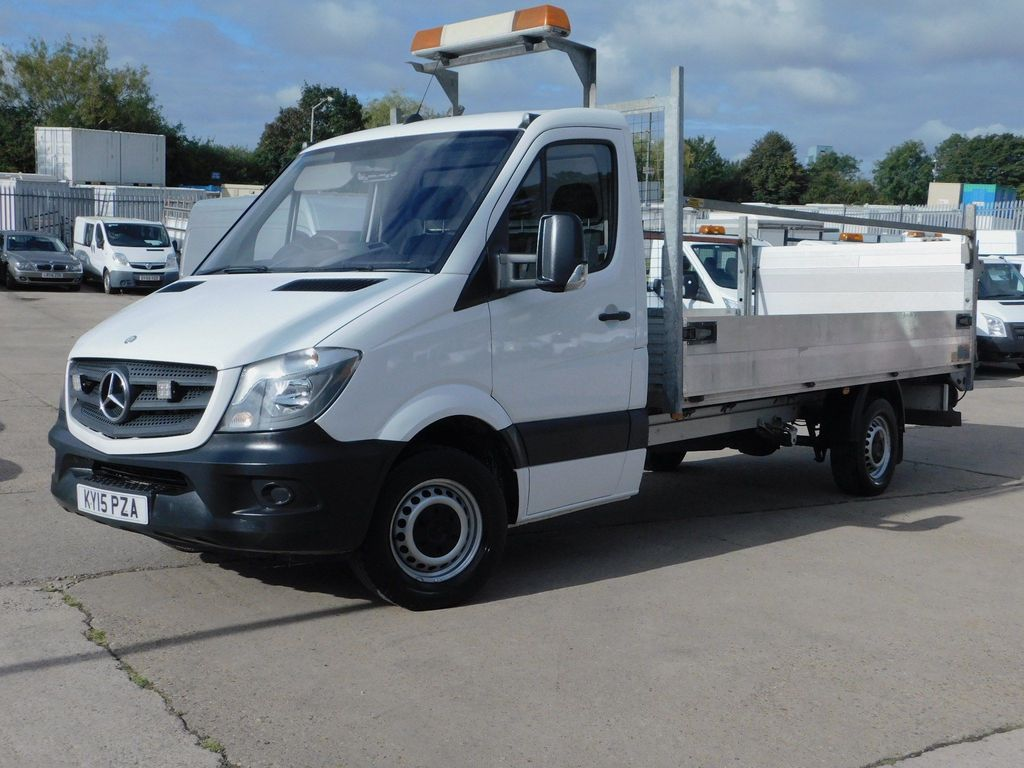 MERCEDES-BENZ SPRINTER Dropside 2.1CDI 313 130 PS DROPSIDE & TAIL LIFT