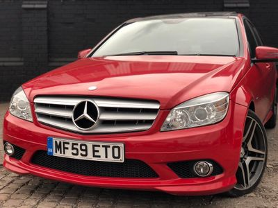 MERCEDES-BENZ C CLASS Saloon 2.1 C220 CDI BlueEFFICIENCY Sport 4dr