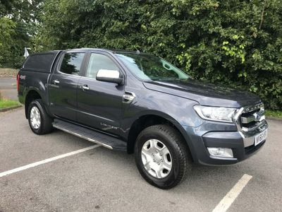 FORD RANGER Pickup 3.2 TDCi Limited 2 Double Cab Pickup 4x4 4dr