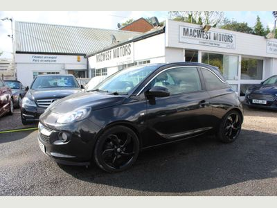 VAUXHALL ADAM Hatchback 1.4 16v Black Edition 3dr