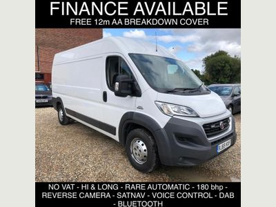 FIAT DUCATO Panel Van 3.0 MultiJet Power 35 MAXI LXH2 Comfort-Matic 5dr