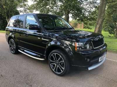 LAND ROVER RANGE ROVER SPORT SUV 3.0 TD V6 HSE Black Edition 4X4 (s/s) 5dr