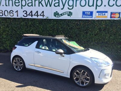 CITROEN DS3 CABRIO Convertible 1.6 THP DSport 2dr