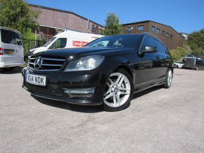 MERCEDES-BENZ C CLASS Estate 2.1 C220 CDI AMG Sport Edition (Premium Plus) 7G-Tronic Plus 5dr