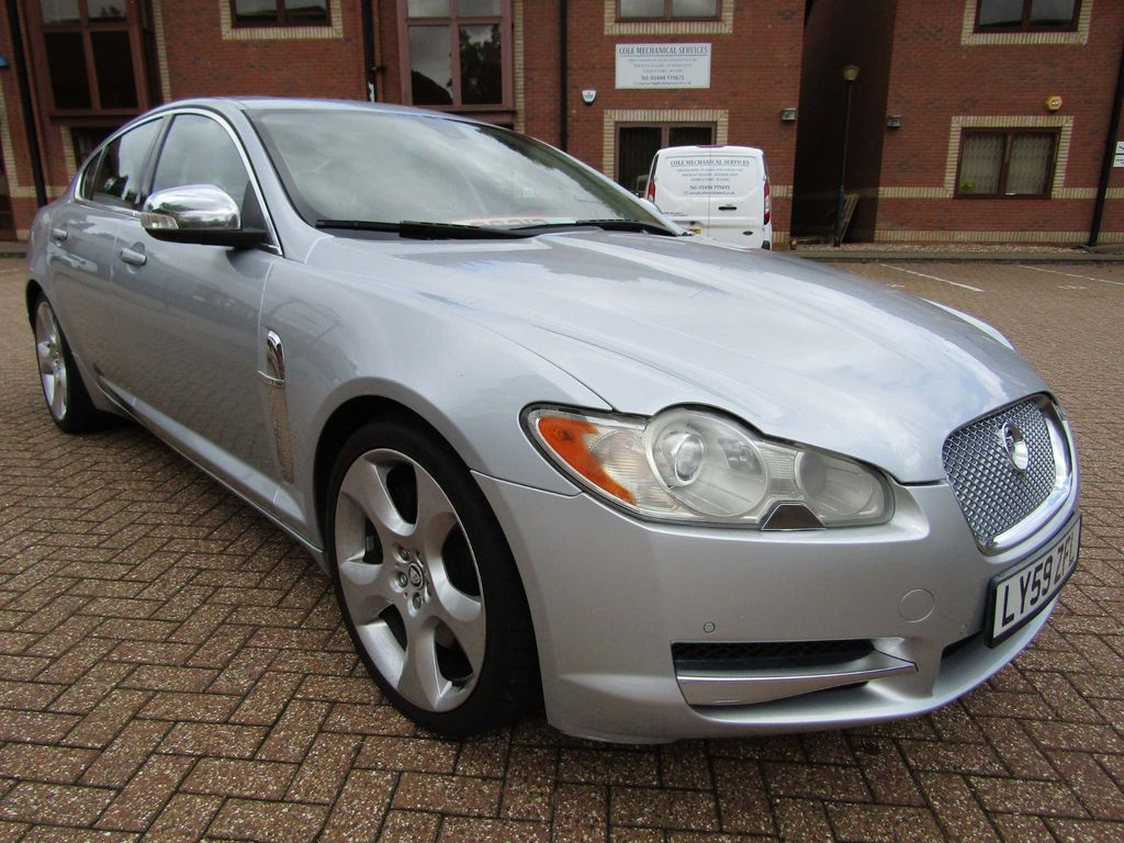 JAGUAR XF Unlisted 4.2 SV8 SUPERCHARGED SPORTS AUTO SALOON