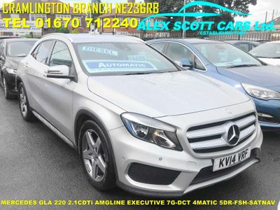 MERCEDES-BENZ GLA CLASS SUV 2.1 GLA220 CDI AMG Line (Executive) 7G-DCT 4MATIC 5dr