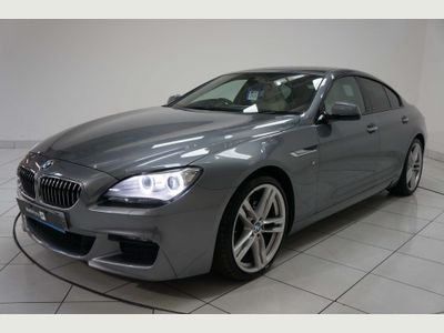 BMW 6 SERIES GRAN COUPE Coupe 3.0 640d M Sport Gran Coupe Steptronic 4dr