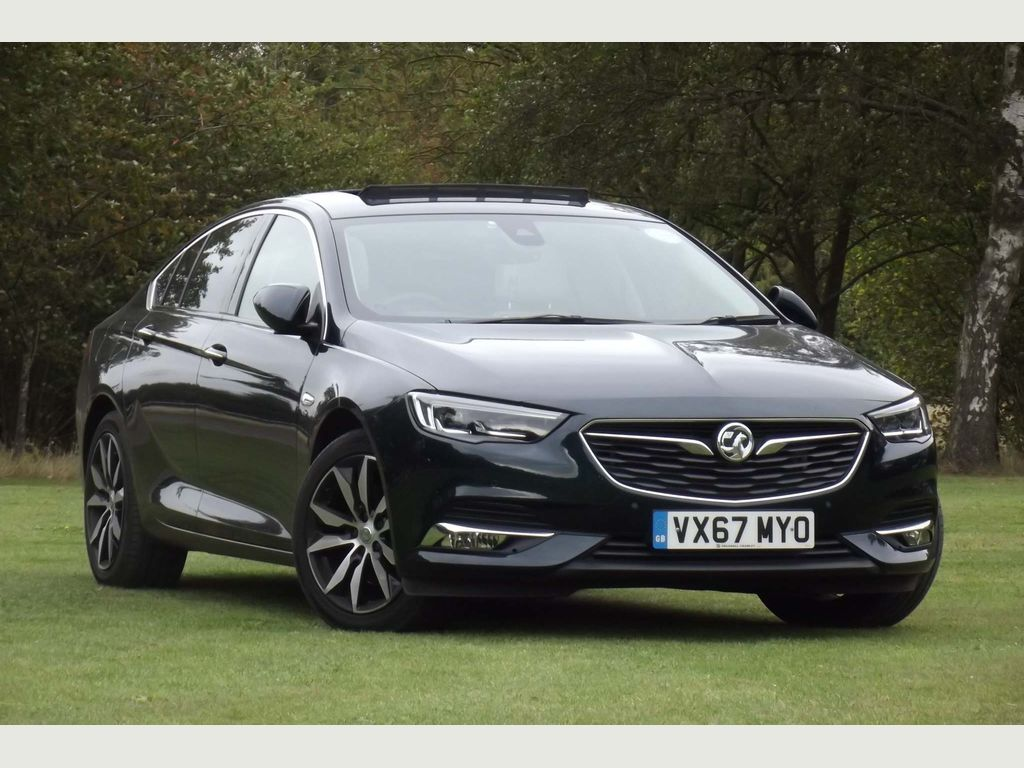 VAUXHALL INSIGNIA Hatchback 2.0 Turbo D BlueInjection Elite Nav Grand Sport Auto (s/s) 5dr