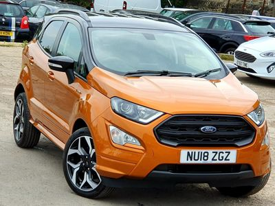 FORD ECOSPORT SUV 1.0 T EcoBoost ST-Line (s/s) 5dr