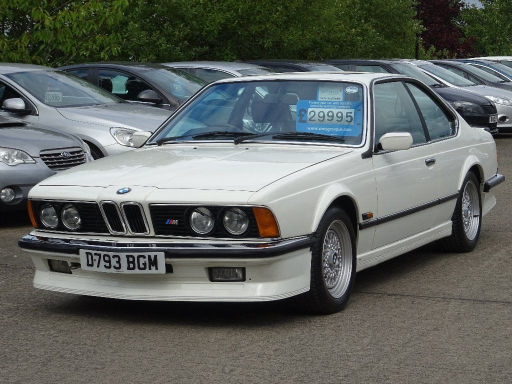 BMW 6 SERIES Coupe 3.5 635CSi 2dr