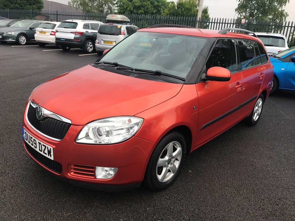 SKODA FABIA Estate 1.4 TDI PD DPF GreenLine 5dr