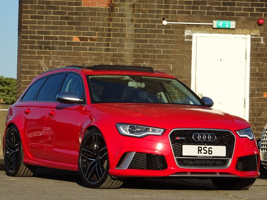 AUDI RS6 AVANT Estate 4.0 TFSI Tiptronic quattro 5dr