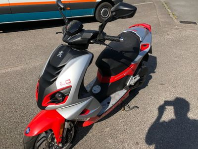 PEUGEOT SPEEDFIGHT Moped 50 4 20th Anniversary