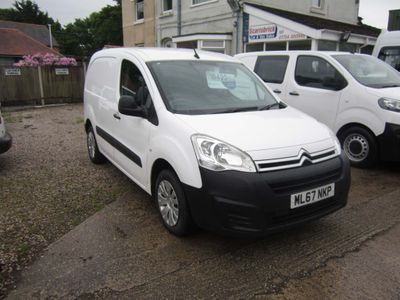 CITROEN BERLINGO Panel Van 850 ENTERPRISE BLUE 1.6 HDI TURBO DIESEL