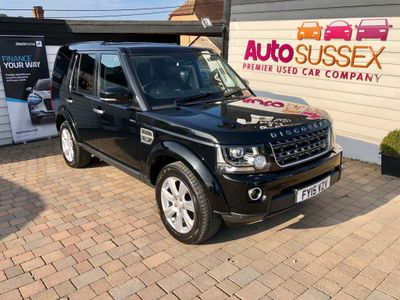 LAND ROVER DISCOVERY 4 SUV 3.0 SD V6 SE Tech (s/s) 5dr