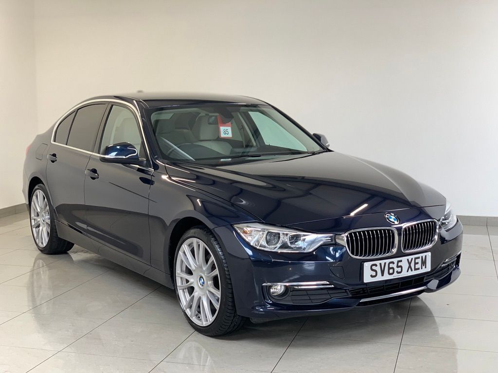 BMW 3 SERIES Saloon 2.0 320d BluePerformance Luxury Auto xDrive (s/s) 4dr