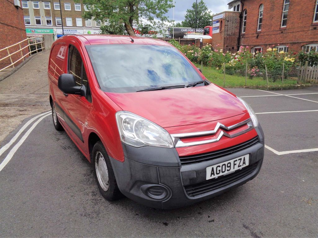CITROEN BERLINGO Panel Van 1.6 i 16v L1 625 X Panel Van 4dr