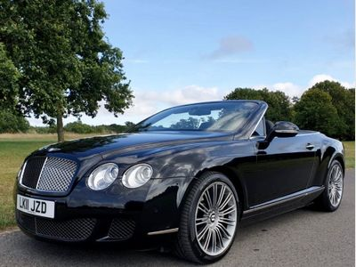 BENTLEY CONTINENTAL Convertible 6.0 W12 GTC Speed 2dr