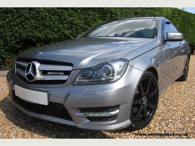MERCEDES-BENZ C CLASS Coupe 2.1 C220 CDI AMG Sport Edition 7G-Tronic Plus 2dr