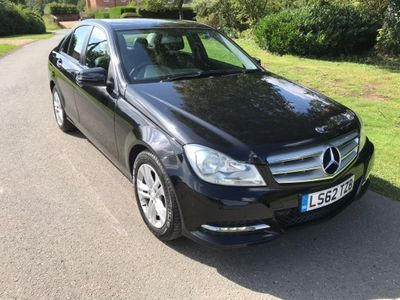 MERCEDES-BENZ C CLASS Saloon 2.1 C220 CDI BlueEFFICIENCY SE (Executive) 7G-Tronic Plus 4dr (Map Pilot)