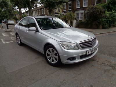 MERCEDES-BENZ C CLASS Saloon 1.6 C180 BlueEFFICIENCY Kompressor Sport 4dr