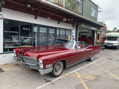 CADILLAC ELDORADO Convertible {Edition unlisted}