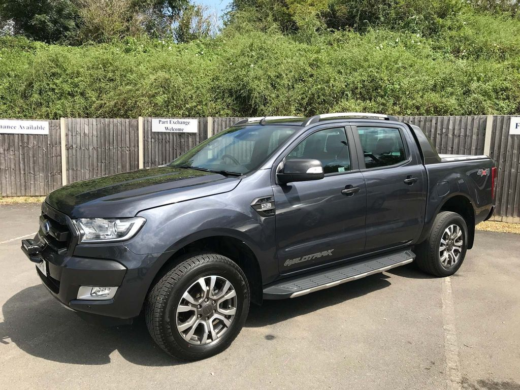 FORD RANGER Pickup 3.2 TDCi Wildtrak Double Cab Pickup Auto 4x4 4dr