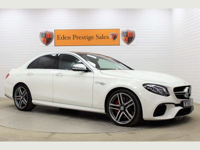 MERCEDES-BENZ E CLASS Saloon 4.0 E63 V8 BiTurbo AMG S SpdS MCT 4MATIC+ (s/s) 4dr