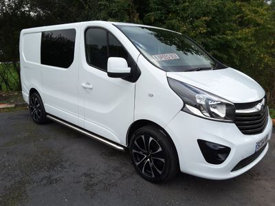 VAUXHALL VIVARO Other 1.6 CDTi 2700 L1H1 Panel Van 5dr