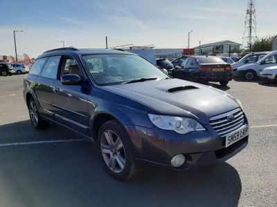 SUBARU OUTBACK Estate 2.0 D RE 5dr (leather)