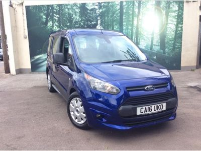 FORD TOURNEO CONNECT MPV 1.5 TDCi Zetec Powershift (s/s) 5dr (EU6)