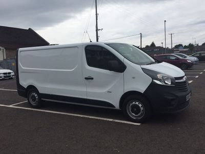VAUXHALL VIVARO Panel Van {Edition unlisted}