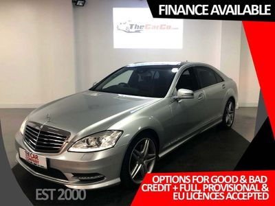 MERCEDES-BENZ S CLASS Saloon 3.0 S350 CDI BlueTEC AMG Sport Edition L 7G-Tronic Plus 4dr