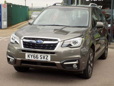 SUBARU FORESTER SUV 2.0D XC Premium Lineartronic 4WD 5dr