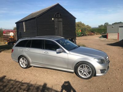 MERCEDES-BENZ C CLASS Estate 2.1 C200 CDI AMG Sport 7G-Tronic Plus 5dr