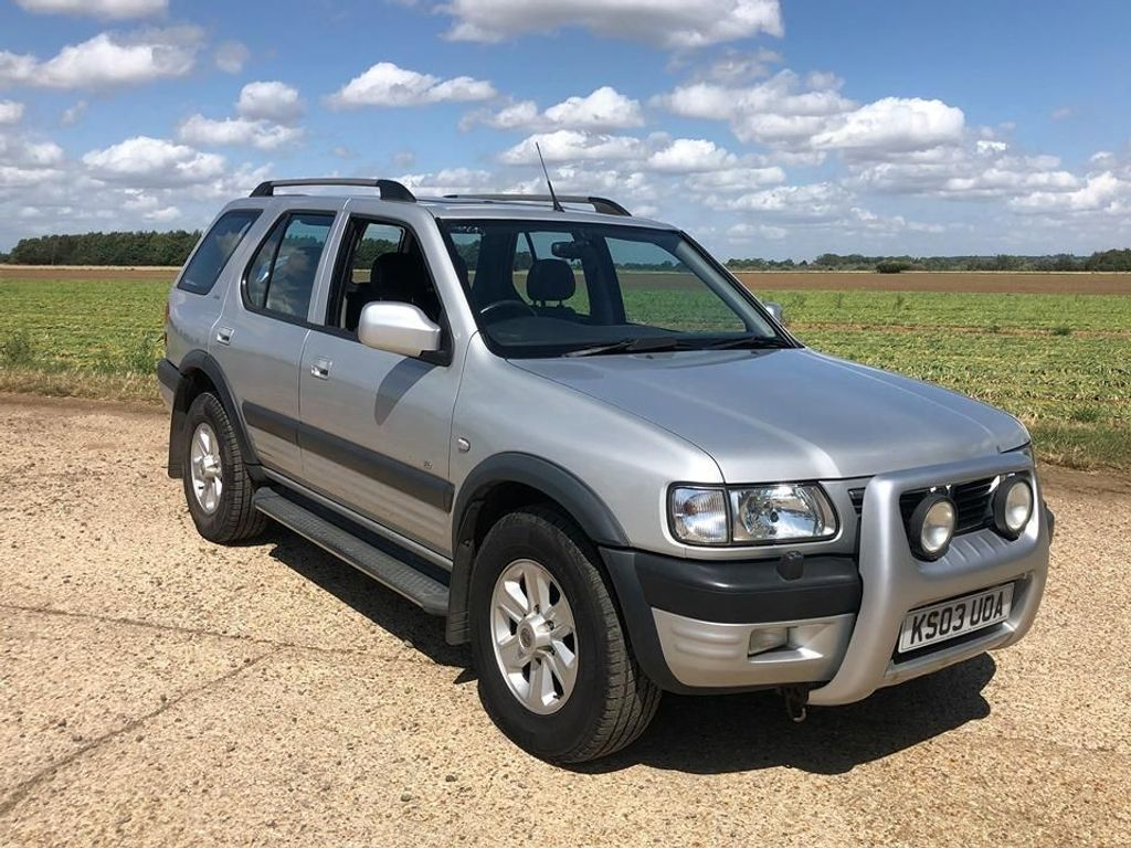 VAUXHALL FRONTERA SUV 2.2 DTi Limited Edition 5dr