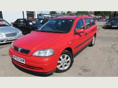 VAUXHALL ASTRA Estate 1.6 i Club 5dr (a/c)