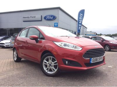 Ford Fiesta 1.0 EcoBoost Zetec 5dr Powershift CITY PACK - ELECTRIC FOLDING M