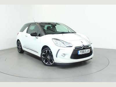 Citroen DS3 Hatchback 3-Door 1.6 e-HDi 90hp DStyle Plus Airdream 3dr 17in Alloys,Bluetooth,Cruise