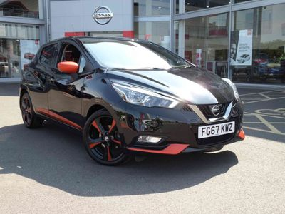 Nissan Micra 0.9 IG-T N-Connecta 5 door [Exterior+ Pack] **£400 DEPOSIT CONTRIBUTION**