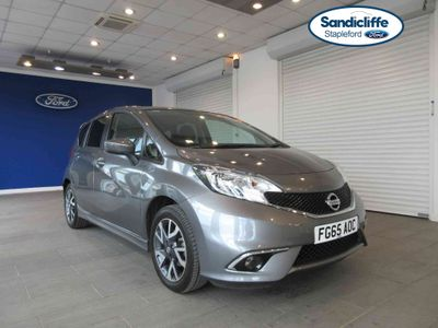 Nissan Note 1.2 Acenta 5 door FULL HISTORY PRIVACY GLASS