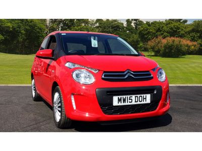 Citroen C1 1.0 Vti Feel 5Dr Petrol Hatchback Low insurance