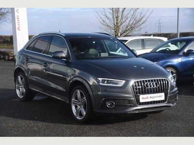 Audi Q3 2.0 TDI quattro S-Line Plus (177ps) 5dr **FREE NATIONWIDE DELIVERY**
