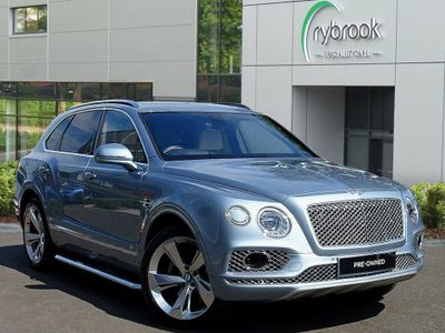 Bentley Bentayga 6.0 W12 4x4 5dr Rear Entertainment 22'' Alloys