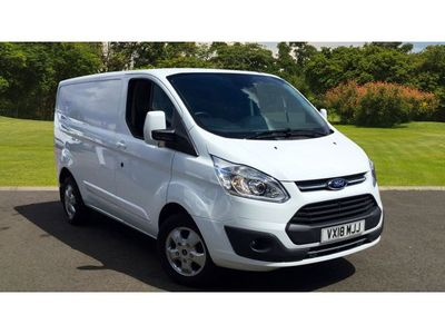 Ford Transit Custom 270 Swb Diesel Fwd 2.0 Tdci 130Ps Low Roof Limited Van +++GREAT PRICE+18 PLATE+++