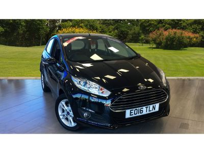 Ford Fiesta 1.0 Ecoboost Zetec 5Dr Petrol Hatchback Record award winning engine